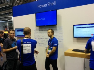 Which booth do you visit first at the TechEd? ;-)